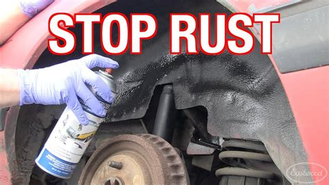 Treating & Preventing Rust On R&d
