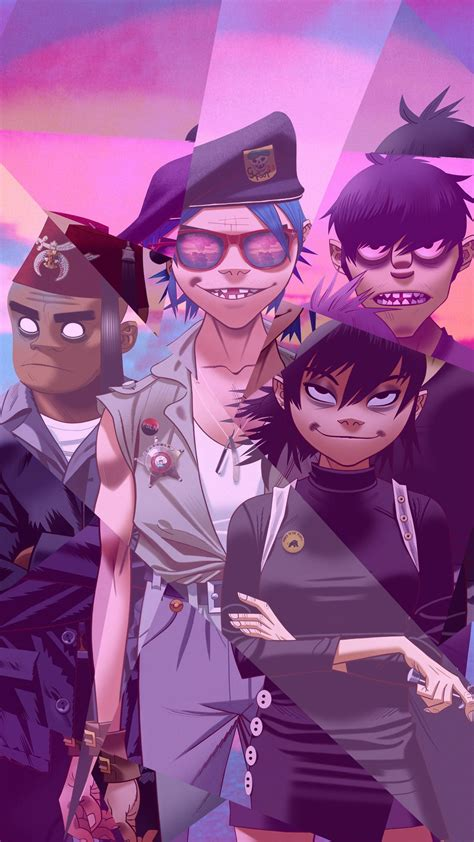 gorillaz wallpapers android wallpaper cave