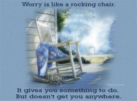 worry    rocking chair pictures
