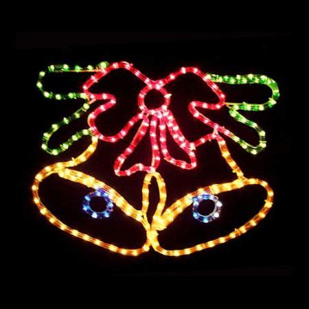 lighted christmas bells windows christmas bells with bow light display crazy sales