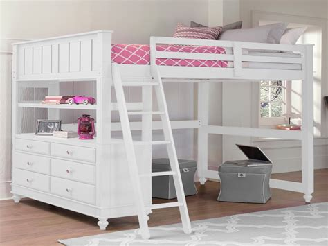 white loft bed with desk loft bed loft beds for white loft