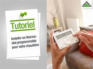 Seche Serviette Programmable : comment installer un thermostat programmable pour chaudi re leroy merlin electricit diy ~ Nature-et-papiers.com Idées de Décoration