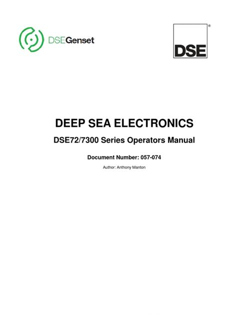 dse  dse operator manual personal computers usb