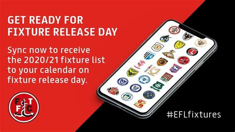 Sync your calendars ahead of fixture release day! - News ...