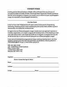 photography consent form template free download With photography permission form template