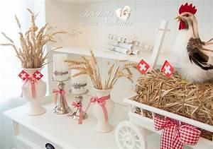 Deko Im Landhausstil : schnelle 1 august deko ich liebe mein zuhause landhausstil zum wohlf hlen und geniessen ~ Markanthonyermac.com Haus und Dekorationen