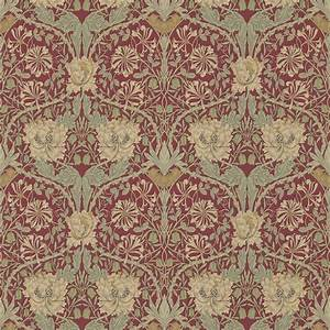 Morris Co : honeysuckle tulip wallpaper red gold 214700 william morris co archive 3 wallpapers ~ Watch28wear.com Haus und Dekorationen