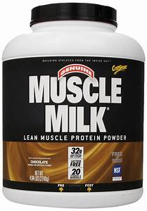 Cytosport Muscle Milk Lean Muscle Protein Powder  Chocolate  4 94 Pound