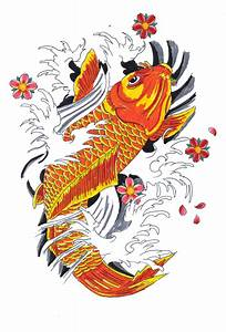 Koi Tattoo Vorlagen : koi tattoos designs ideas and meaning tattoos for you ~ Frokenaadalensverden.com Haus und Dekorationen