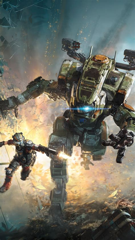 Titanfall 2 2016 Game 4k Wallpapers Hd Wallpapers Id