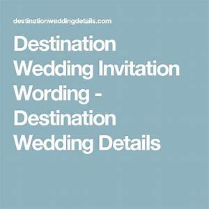 Best 25 invitation wording ideas on pinterest wedding for Destination wedding invitation rsvp etiquette