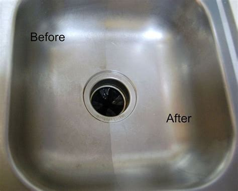 baking soda kitchen sink cleaning a stainless steel sink with baking soda and 4290