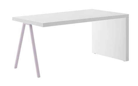 bureau simple blanc bureau simple table de bureau simple en bois h76 x l120 x