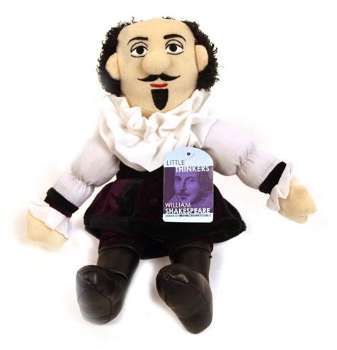 William Shakespeare Soft Toy   Little Thinkers Doll   Pink