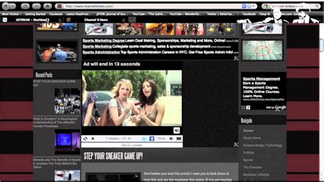 broadcast  stream  video   website