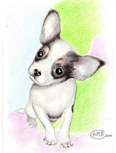 Cute Puppy Chihuahua Drawings