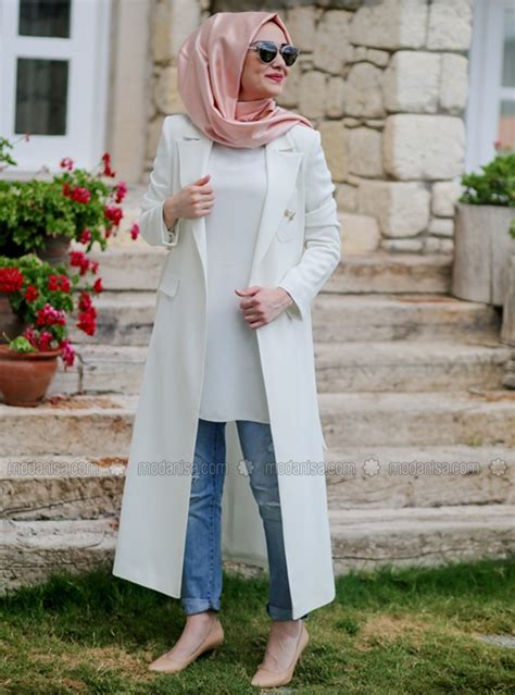Tuniques Special Hiver Pour Hijab Moderne Style