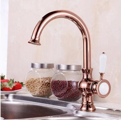 antique brass rose gold kitchen sink tap tar tar  uktapscouk taps uk