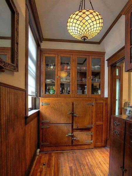 built  icebox   butlers pantry vintage kitchens