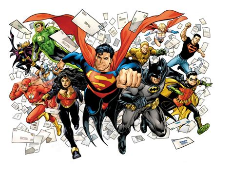 Dc Comics Brings Back The Letters Page