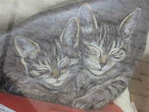 Bilder Bäume Gemalt : katzen auf stein gemalt foto bild natur tiere youth bilder auf fotocommunity ~ Orissabook.com Haus und Dekorationen