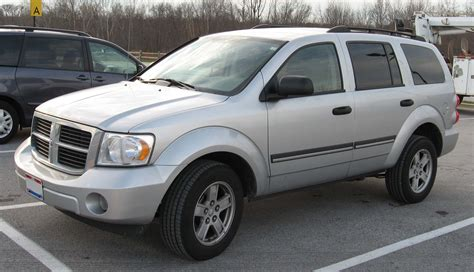 Chrysler Suv Models List by 2007 Dodge Durango Information And Photos Momentcar