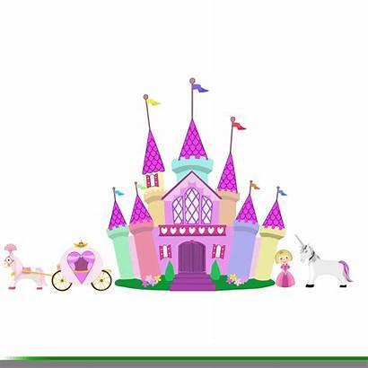 Castle Princess Clipart Cliparts Clip Disney Crown