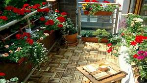 Best Small Balcony Garden Ideas - YouTube