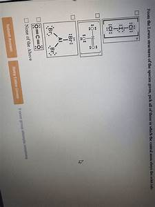 Oneclass  The Lewis Diagram Which Obeys The Octet Rule And