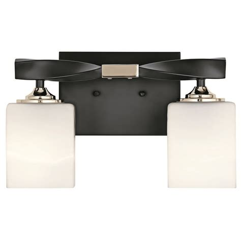 kichler lighting marette black bathroom light bk
