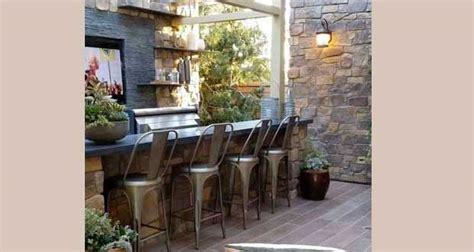 cuisine d exterieur cuisine d 39 été aménagée extérieur jardin et terrasse