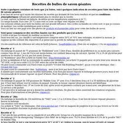 Recette Bulles De Savon : tpe bulles de savon pearltrees ~ Melissatoandfro.com Idées de Décoration