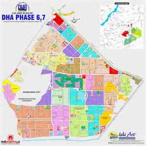 DHA Lahore Phase 6 Map