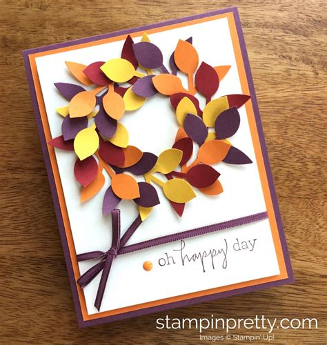 I'm Lovin' the Stampin' Up Leaf Punch Stampin' Pretty