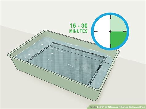How To Clean Kitchen Exhaust Fan Cover by How To Clean A Kitchen Exhaust Fan With Pictures Wikihow