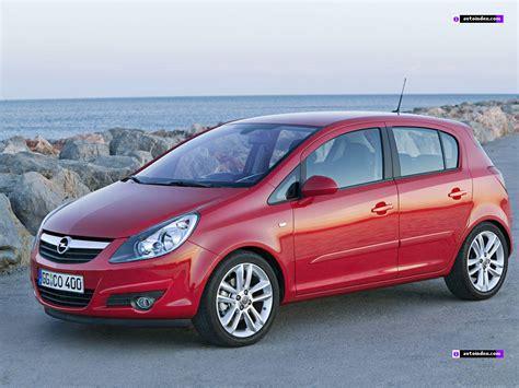 Opel Corsa Dane Techniczne Samochodów Specyfikacji