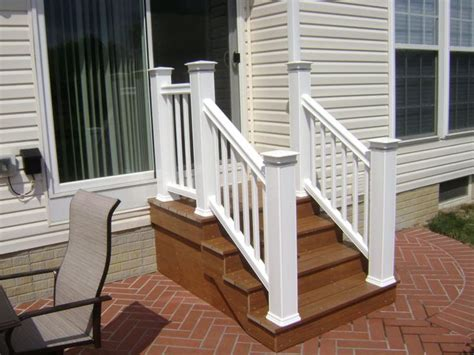 trex steps www timbertech backyard