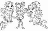 Cafe Coloring Butterbeans Butterbean Pages Poppy Printable Dazzle Coloringpagesfortoddlers Sheets Nickelodeon Fairy Books Kunjungi Dari Disimpan sketch template