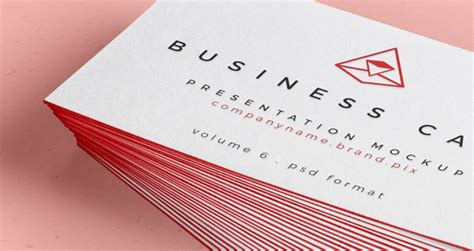 psd business card mock  vol psd mock  templates