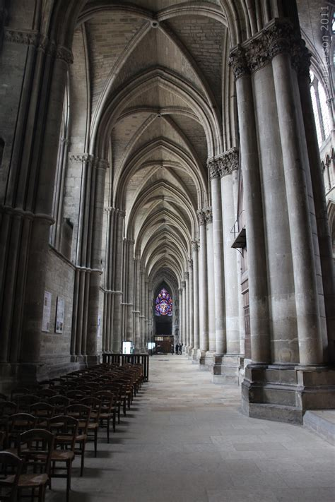 reims cathedral red sand