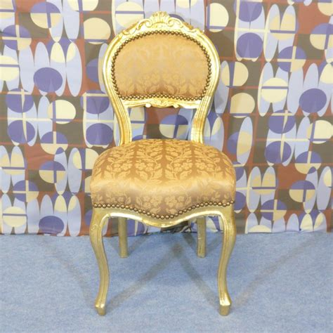 chaise dorée louis xv chair ls bronze statues baroque
