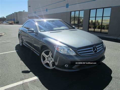 2009 Mercedes Benz Cl550 4matic Coupe 2 Door 5 5l Awd