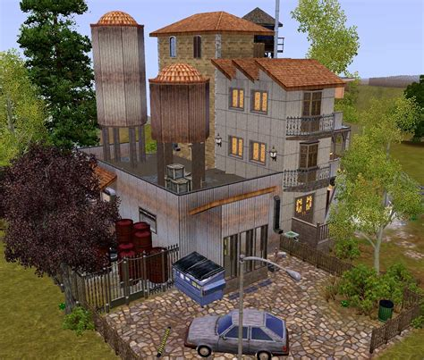 mod  sims  destroyed building