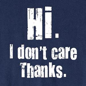 NoExcusesHR: I Don't Care Anymore