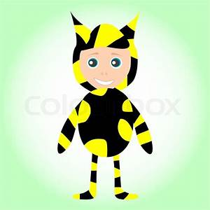 Nette Se Kleine Baby Tragen Lustige Kostme Biene