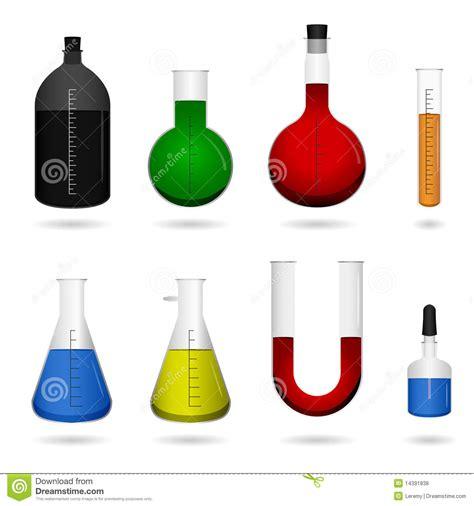 la chimie en cuisine matériel de laboratoire de chimie de la science illustration de vecteur image 14391838