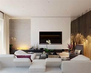 Moderne Wohnzimmer Bilder : 43 pr chtige moderne wohnzimmer designs von alexandra fedorova ~ Sanjose-hotels-ca.com Haus und Dekorationen