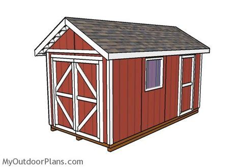 8 x 16 shed plans 8x16 gable shed plans myoutdoorplans free woodworking