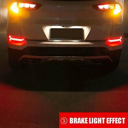 Rear Lights Brake Hyundai Tucson Bumper Led
