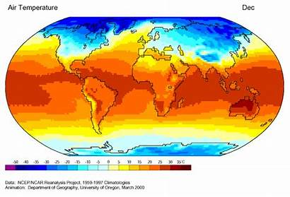 Global Warming Planet Effect Map Heat Climate